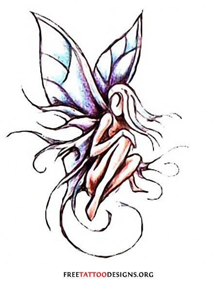 fairy tattoos cute evil small fairy tattoo designs and ideas - Small Designs
