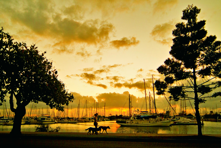 Early morning walk at Manly. http://bit.ly/1n5taw5  #Brisbane #Queensland #Australia #travel