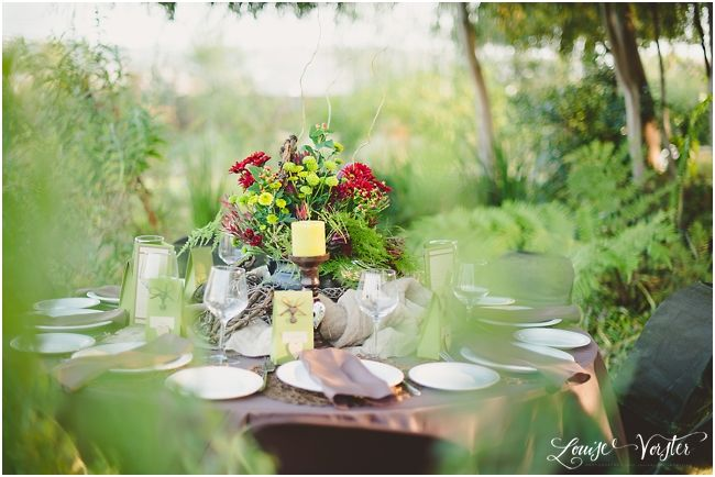 Just to take in the overall beauty of the table and the colours.