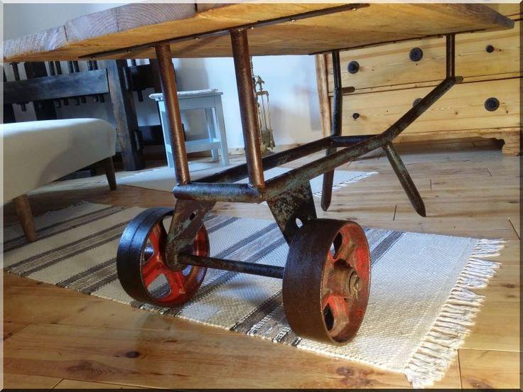 loft asztal, egyedi bútor