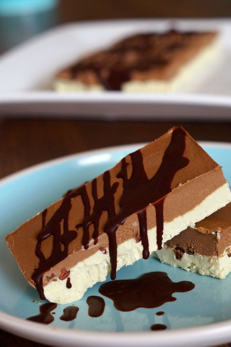 Paleo Choc Chip Mint Icecream Bars Recipe.