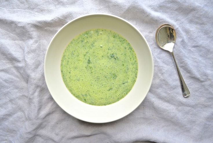 Pea Shoot & Asparagus Soup