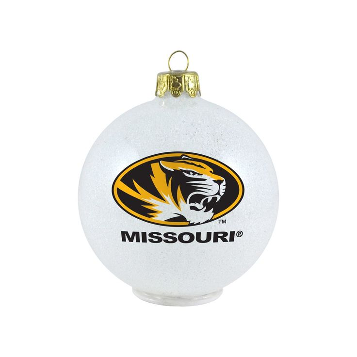 Missouri Tigers Ornament - LED Color Changing Ball