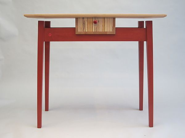 Floating Table Top Maple | This Is A Floating Top Table With A Drawer.