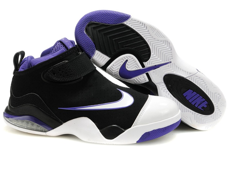 d8aa52ad896a ... Nike Zoom Flight Club Tony Parker Shoes PurpleBlackWhite ...