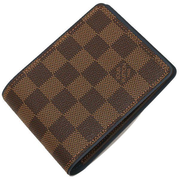 ルイヴィトン財布 ダミエ ポルトフォイユミュルティプル 2つ折り財布 N63167 -ルイヴィトン財布コピー