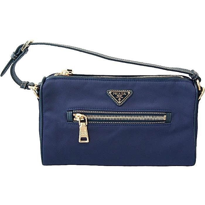 Prada Clutch Handbag Royal Bleu #PRADA #Clutch