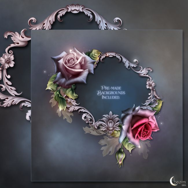 Moonbeam осень Розы | Текстуры для Poser и DAZ Studio
