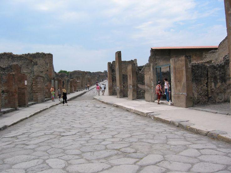 Pompeya, zonas arqueológicas.
