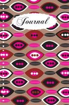 Patterned Journal by Milena Martinez