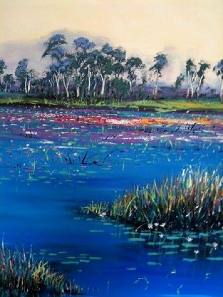 Kakadu- carole foster art