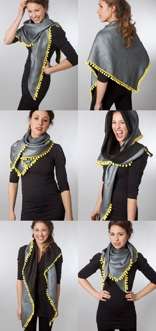 Love this scarf from POM Amsterdam