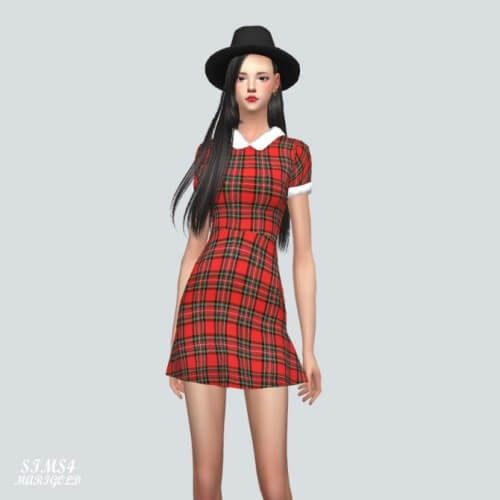 JJ Dress by Marigold for The Sims 4