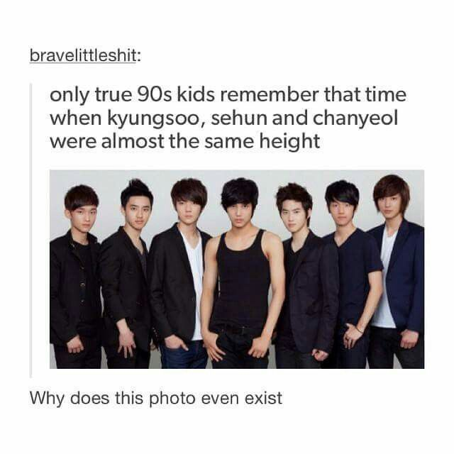 WTF? XD Why does this exist? Why are they all the same height, or more like what the heck happened?!? OMO