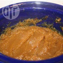 Photo de recette : Beurre de citrouille à la mijoteuse