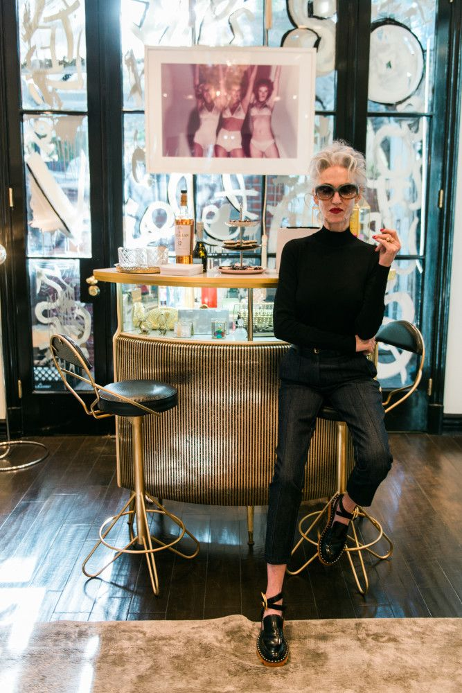 And you can pull off boyish shoes if everything else is crisp and stylish...and you have great sunglasses. Talking Style & Simplicity With Timeless Icon, Linda Rodin