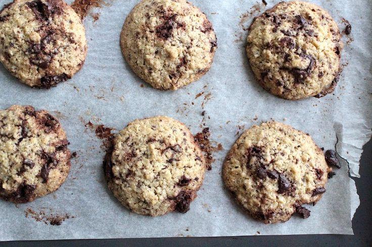 Gezonde havermout chocolade koekjes