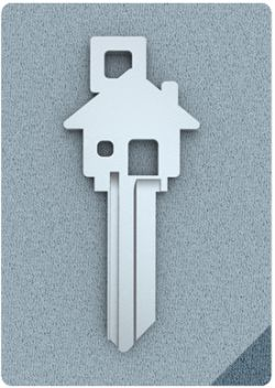 HOUSE key. Such a good idea for telling your car and other keys apart