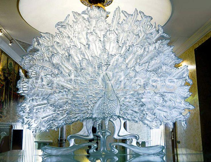 Изделия из стекла интерьерные, украшения, декор из стекла - оригинальные неповторимые произведения из стекла для шикарных интерьеров