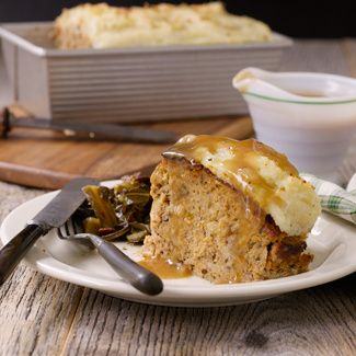 Meat Loaf with Mashed Potato Topping (customer favorite from David Venable)