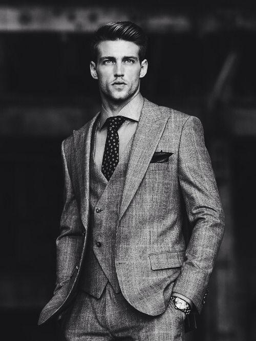Men's Fashion | Black and White | Gentleman.