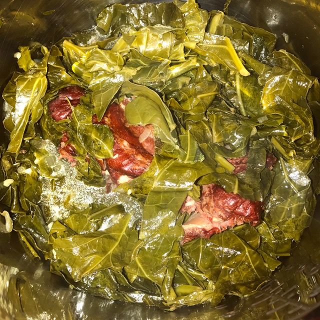 Collard Greens. Simple recipes, techniques and tips for Instant Pot (or other pressure cooker) cooking success.