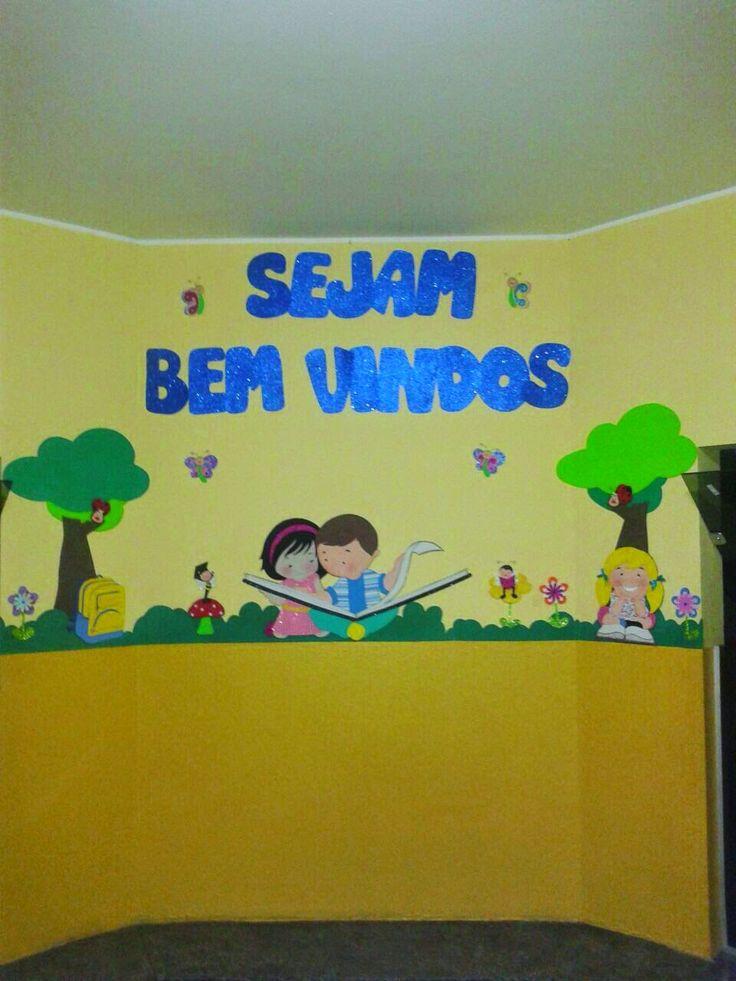 Feito a mão by Patricia Cristina: Decoração / painel escolar