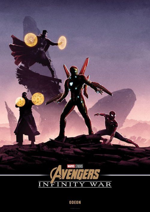 0ab8f69c759 Avengers  Infinity War Odeon Poster - Matt Ferguson