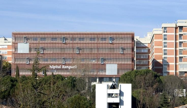 Toulouse Rangueil Hospital / Art Architects; Photo © Vincent Boutin