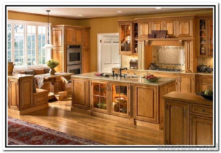 Autumn Maple Kitchen Cabinet Colors | Maple Cabinets ...