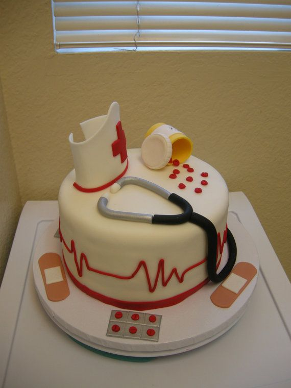 Cake Decorations For Nurses : Best 25+ Nurse cakes ideas on Pinterest Medical cake ...