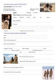 English worksheet: The rabbit proof fence