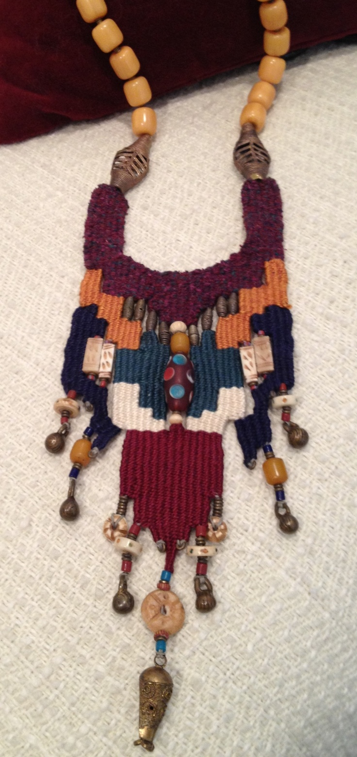 Global Woven Necklace by Kathy Winters Mamat