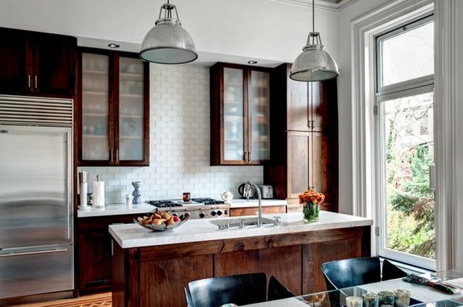 78 best brownstone kitchens images on pinterest kitchen for Brownstone kitchen ideas