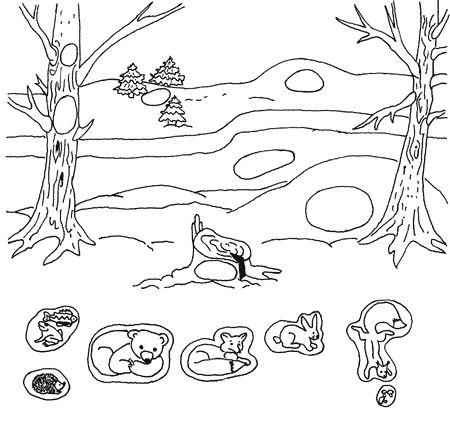 Пекушева Мария | Как зимуют дикие животные | Журнал «Дошкольное образование» № 24/2004
