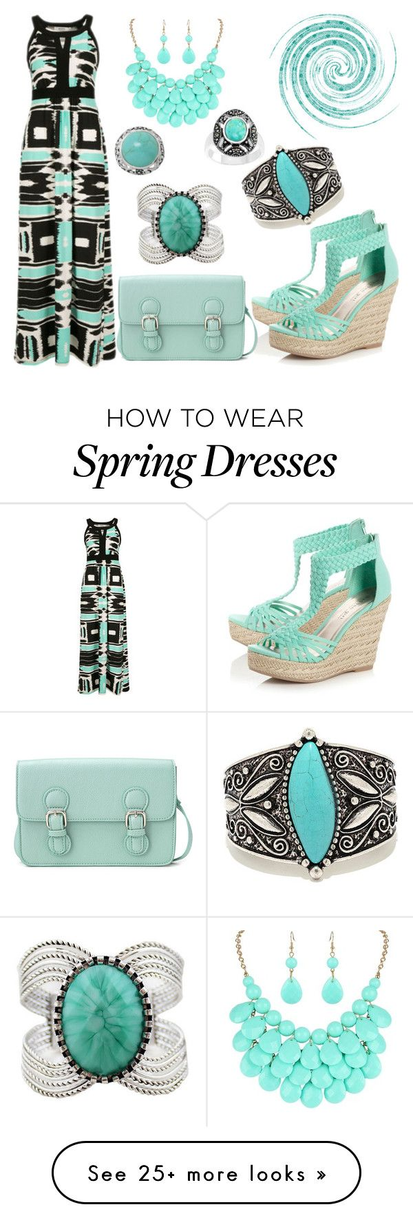 """Spring Date"" by donnalynnginn on Polyvore featuring Chicnova Fashion, LULUS, Madden Girl and Forever 21"