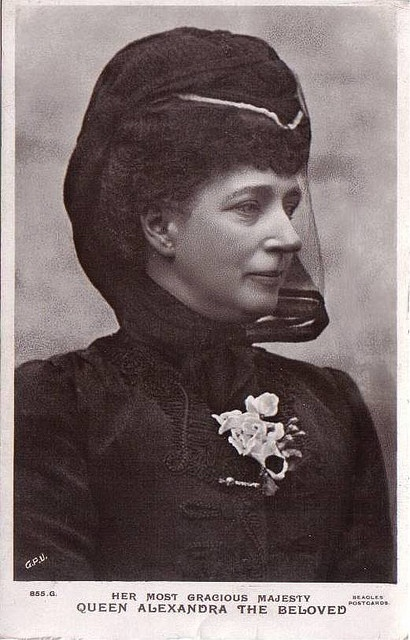 Königin Alexandra von England, Queen of Britain, nee Princess of Denmark by Miss Mertens, via Flickr