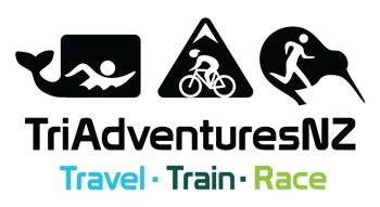 tri travel, TriAdventuresNZ offers group tours of New Zealand that include and half or full distance Ironman triathlon race.