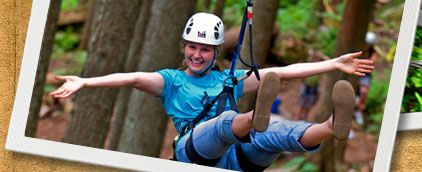 BC Rope Course Children | SkyTrek Adventure Park