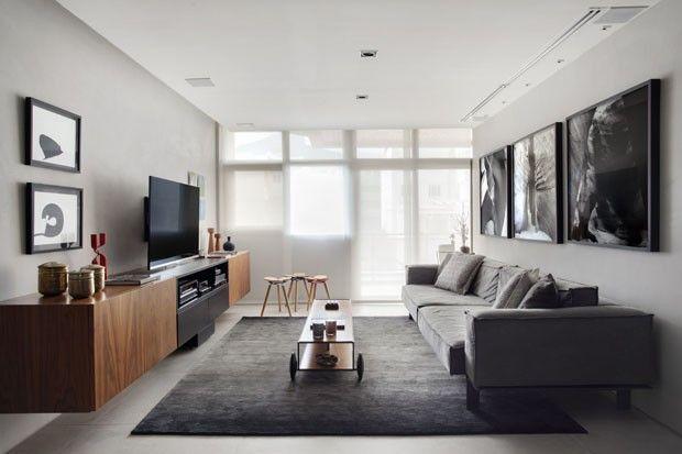 salas cinza sofá cinza sala sofá sala de estar decoração de