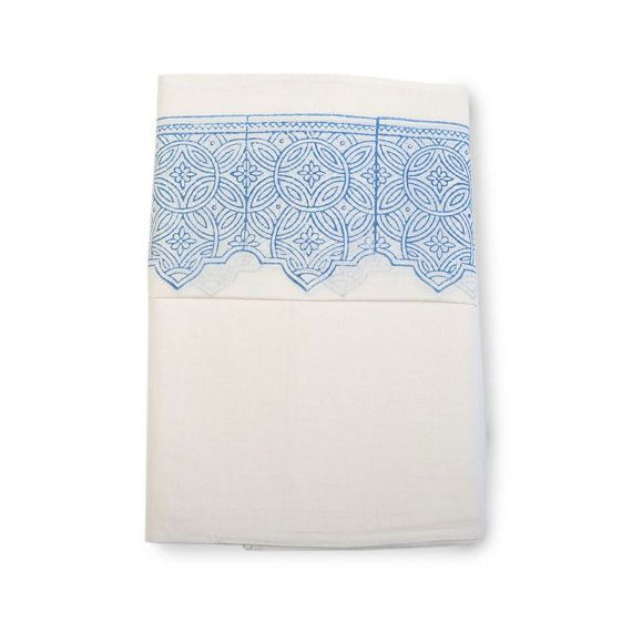 PAILSEY  Luxury Handcrafted Cotton Muslin by whitejasminebedding