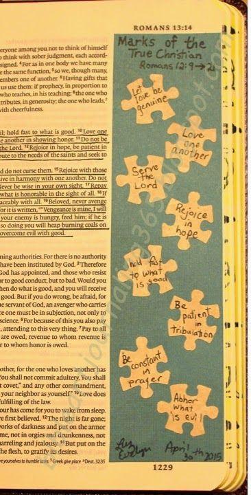 Easy Bible Art Journaling Journey: Romans 12:9-21 (April 30th)