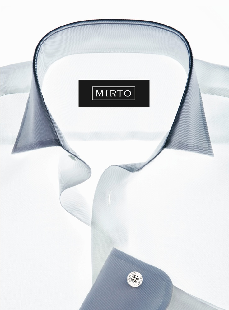 Classic MIRTO shirt. White is always a must.