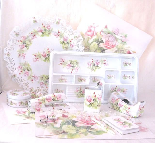 Shabby Chic Desk Accessories Best Home Design 2018