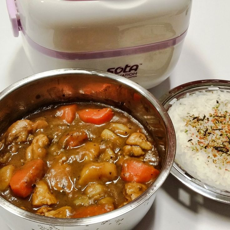 Japanese curry electric box