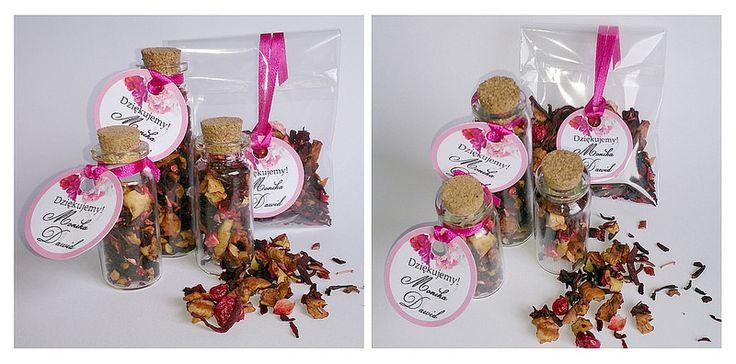 Fontanessi - Wesele na głowie: Herbatki - podziękowania dla gości
