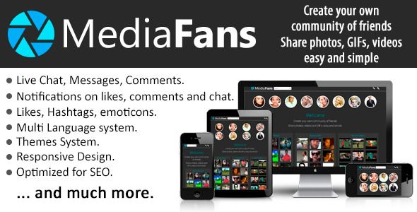 MediaFans - Share photos, GIFs and videos - http://wareznulled.com/mediafans-share-photos-gifs-and-videos/