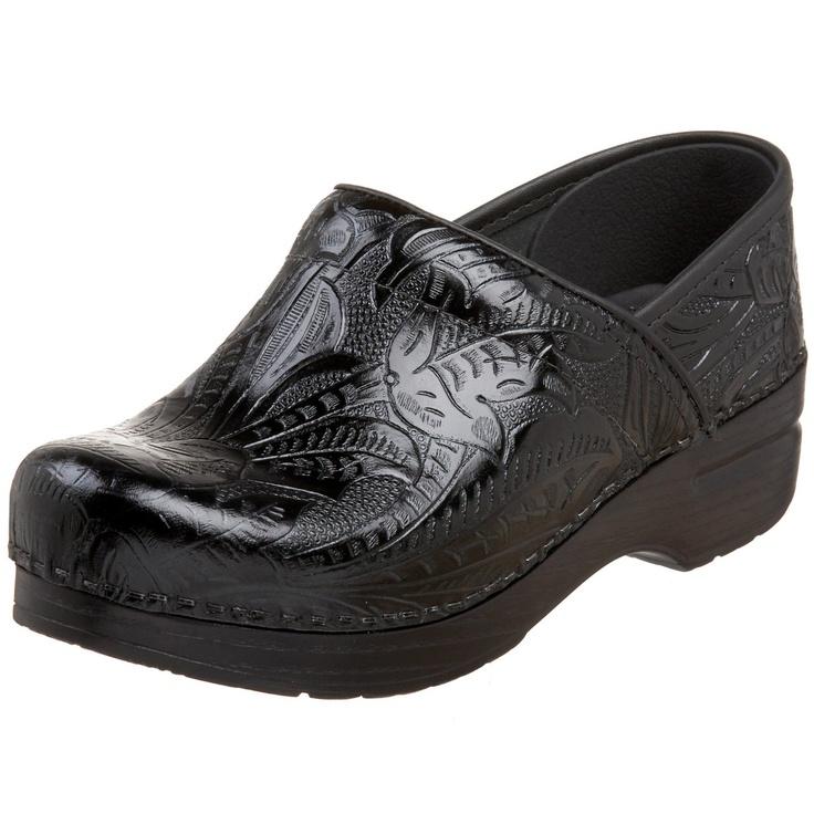 Dansko Women's Professional Tooled Clog – Go Shop Shoes