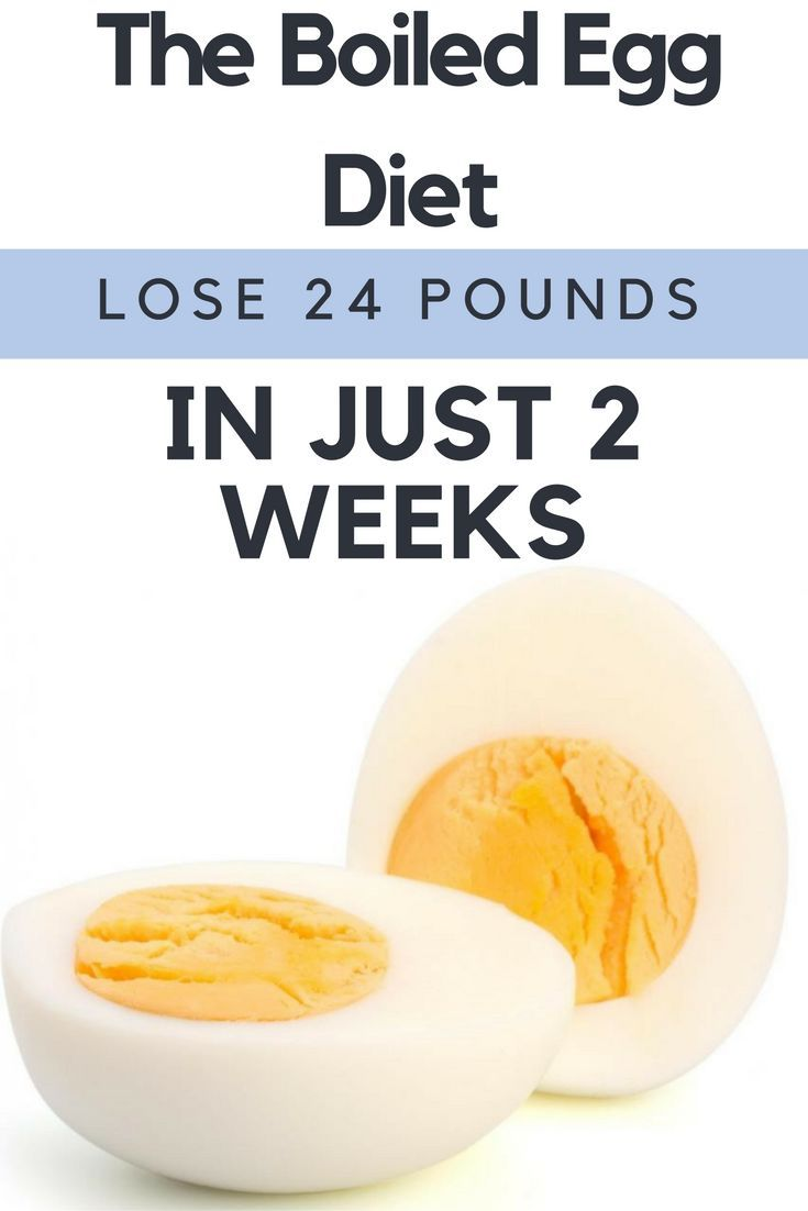 Boiled Egg Diet Plan That Will Help You Lose up to 22 Lbs in Just 14 Days