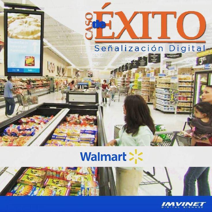 Según declaraciones de James Beck responsable de la Smart Network de Walmart gracias a la Señalización Digital ubicada al momento de la toma de decisión del público algunos productos han obtenido un retorno de inversión considerable. Según Nielsen el 40% de los compradores de Walmart conocen la nueva red; el 32% recuerdan anuncios específicos; y el 64% consideran que la experiencia con estos sistemas es positiva. Entonces Qué esperas para colocar una red de Señalización Digital en tu…